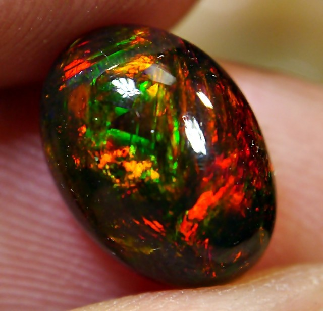 smoked black opal
