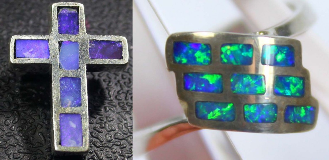Opal inlay examples