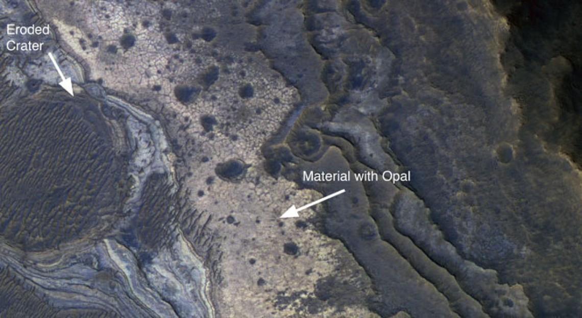Opal Found On mars