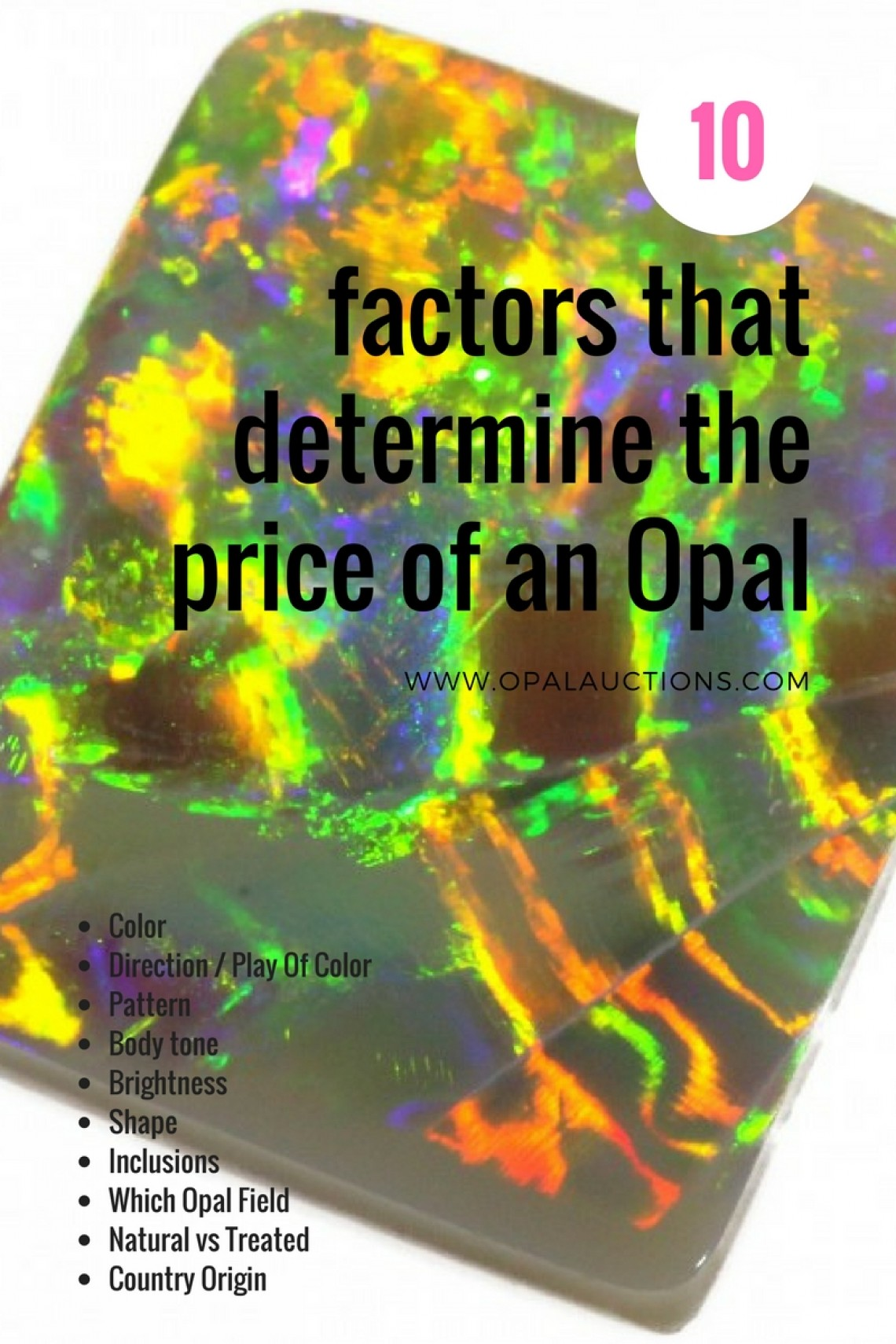 How To Value Opal - The 10 Factors