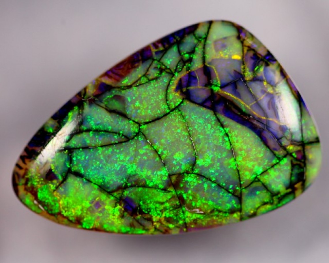 Monarch Opal - A New Man Made Synthetic Opal