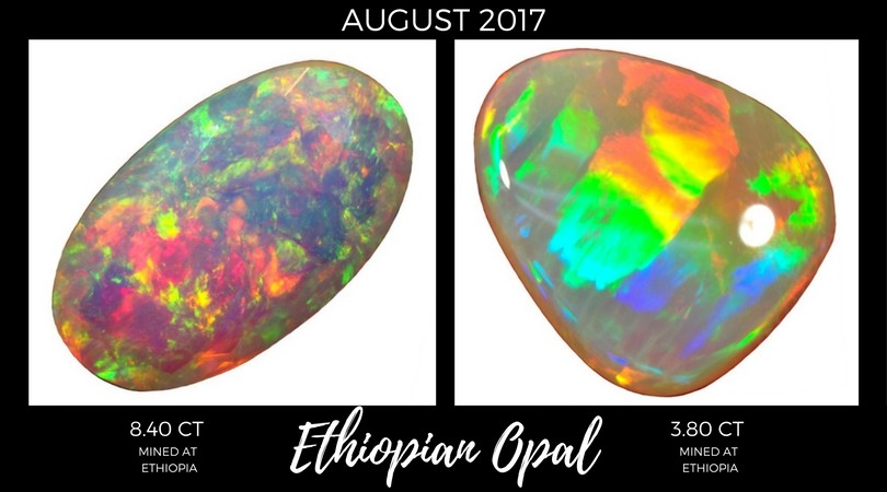 Ethiopian Opal August 2017 Market Review