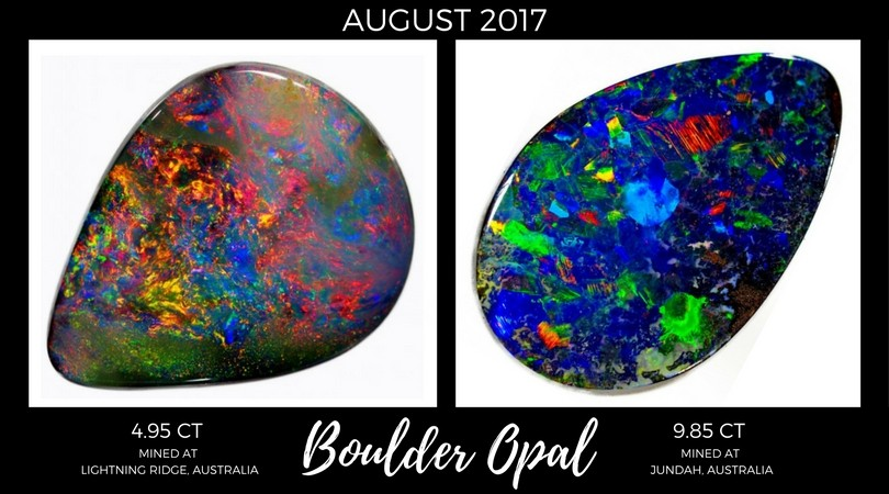 Boulder Opal August 2017 Market Review