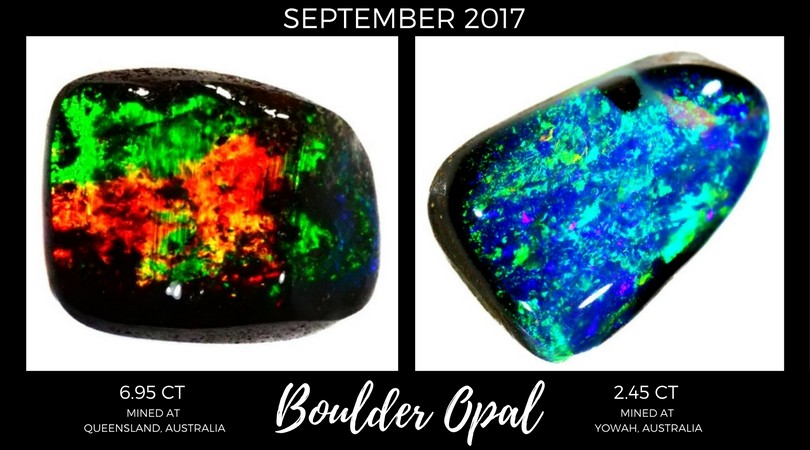 Boulder Opal September 2017 Market Review