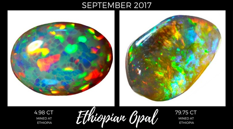 Ethiopian Opal September 2017 Market Review