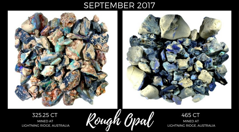 Rough Opal September 2017 Market Review