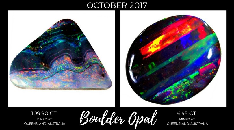 Boulder Opal October 2017 Market Review