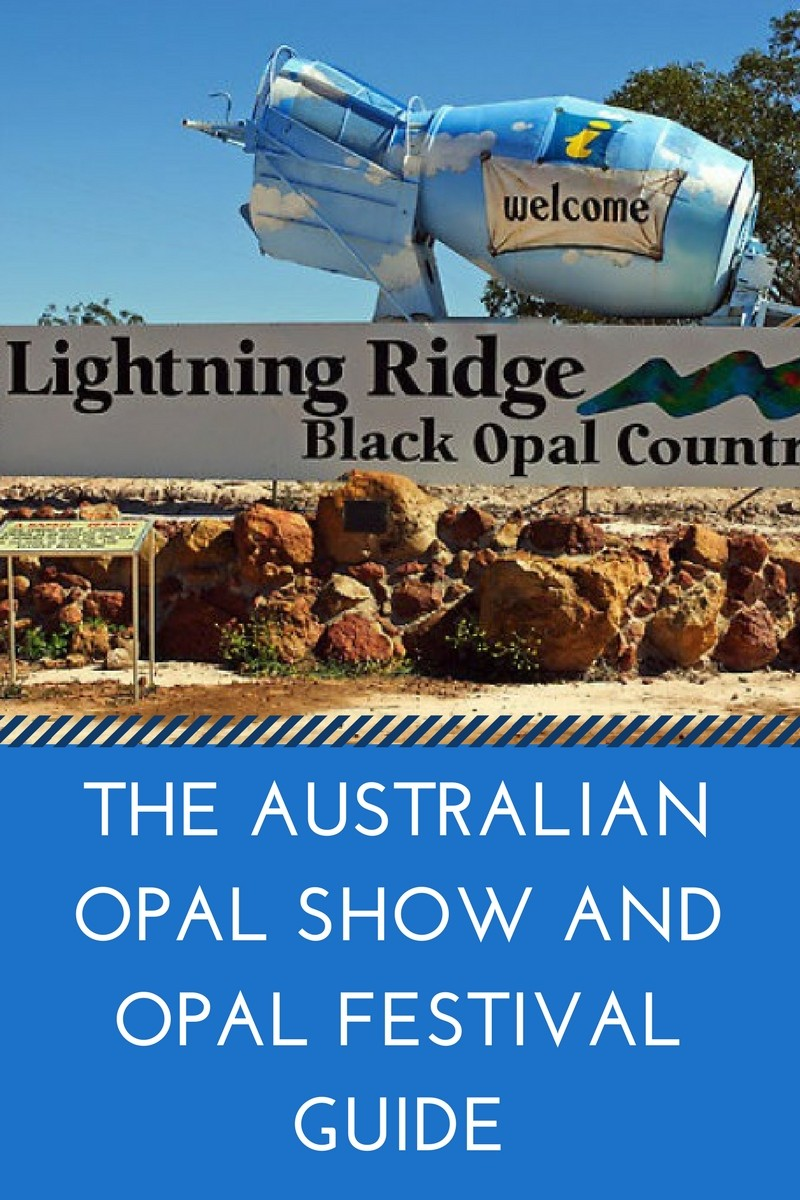 Australian opal show and opal festival guide