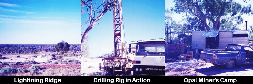 opal mining at lightning ridge