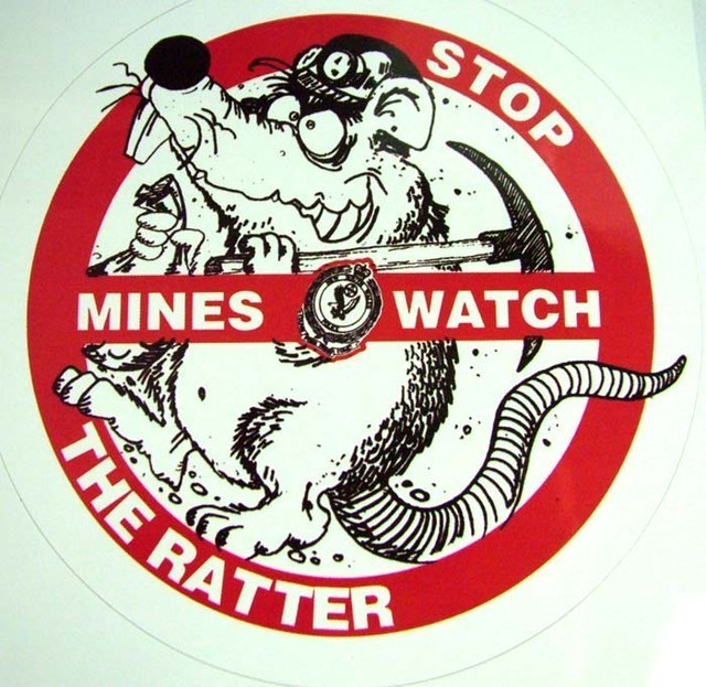 watch out for ratter in the mines