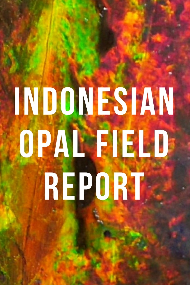 Indonesian opal - a report by Paul Sedawie
