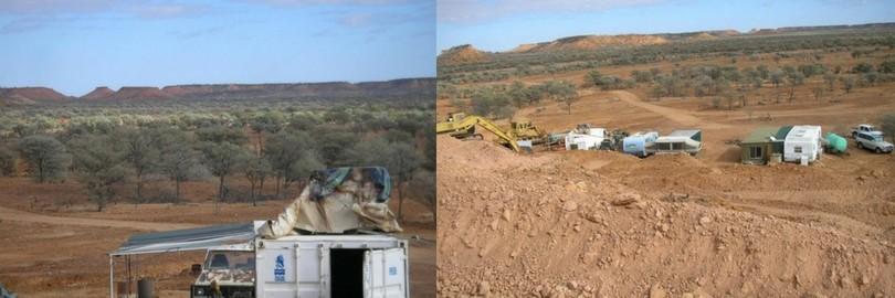 Australian Boulder Opal Mine
