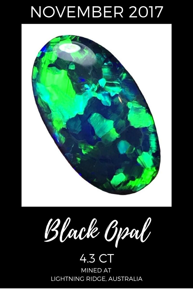 November 2017 Black Opal Sales