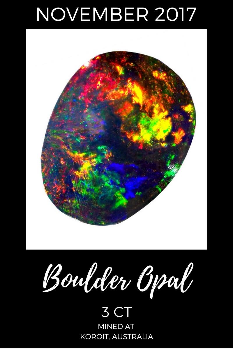 November 2017 Boulder Opal Sales