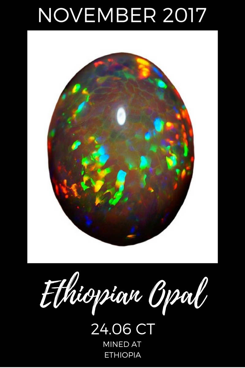 November 2017 Ethiopian Opal Sales