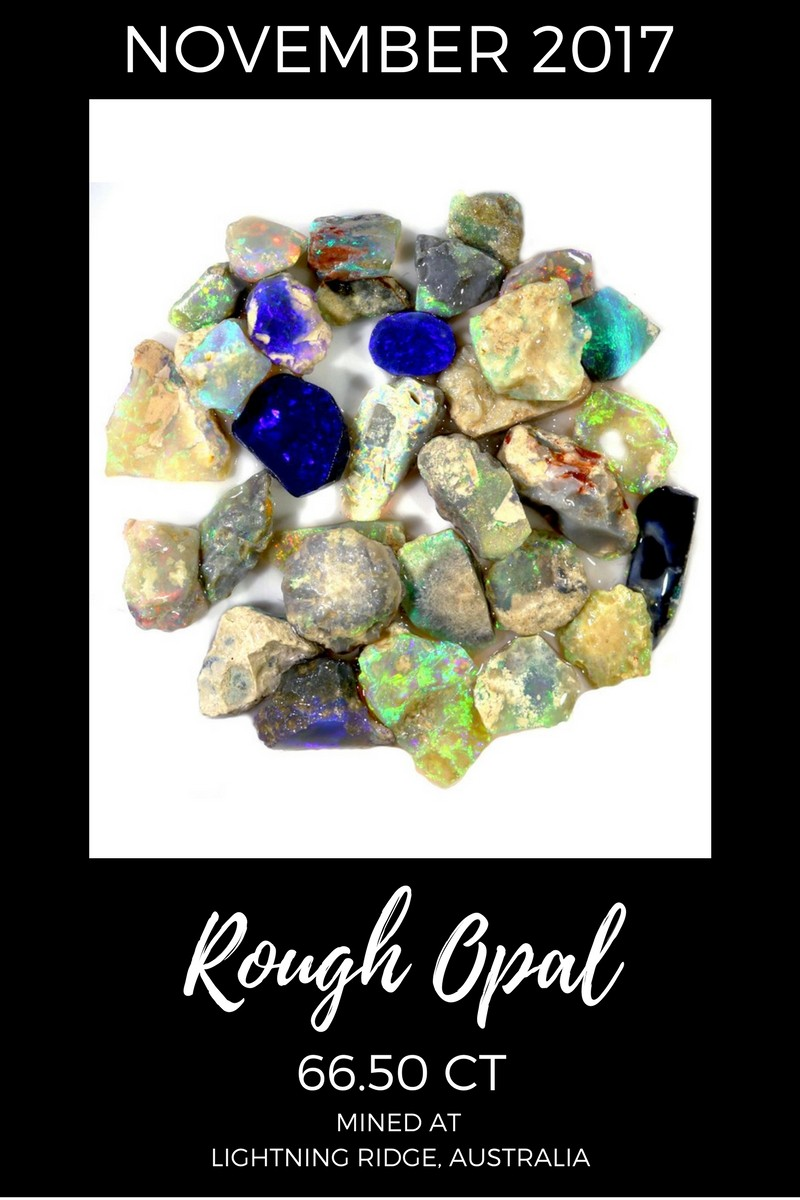 November 2017 Rough Opal Sales