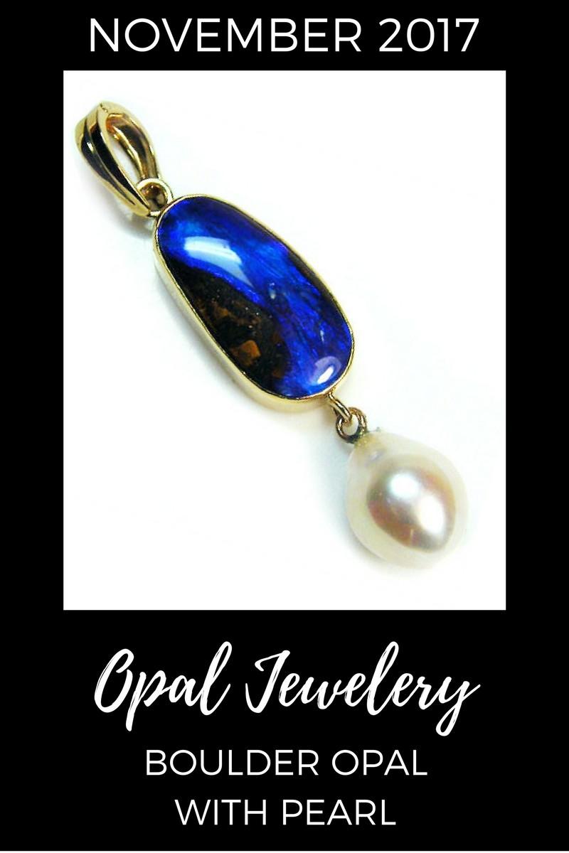 November 2017 Opal Jewelry Sales