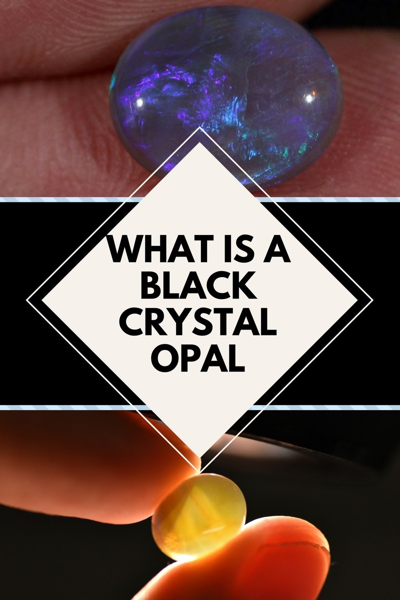 What is a black Crystal Opal