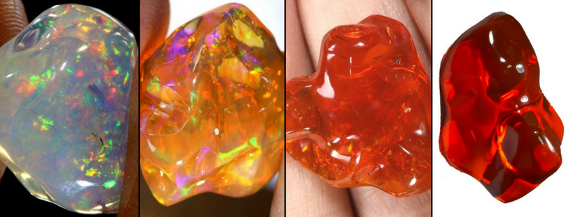 What Colors Do Mexican Fire Opals Come In
