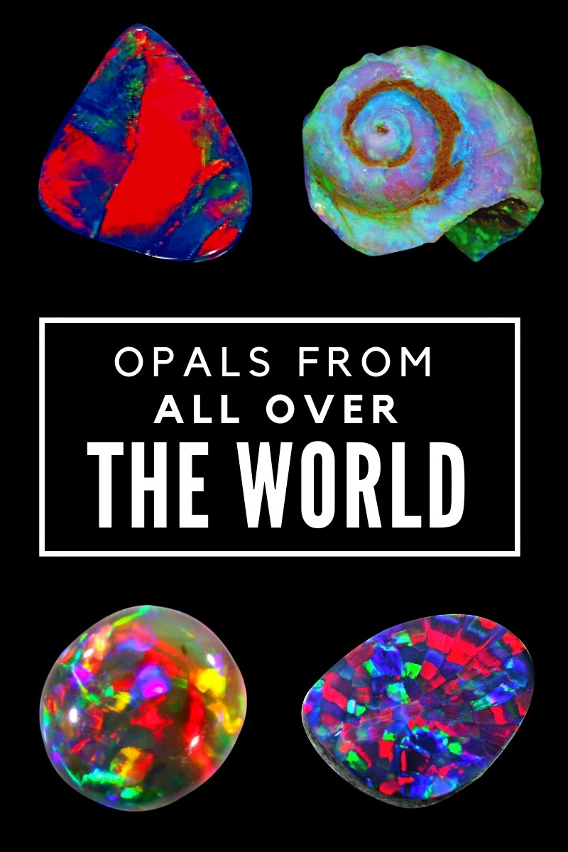 Opals from all of the world