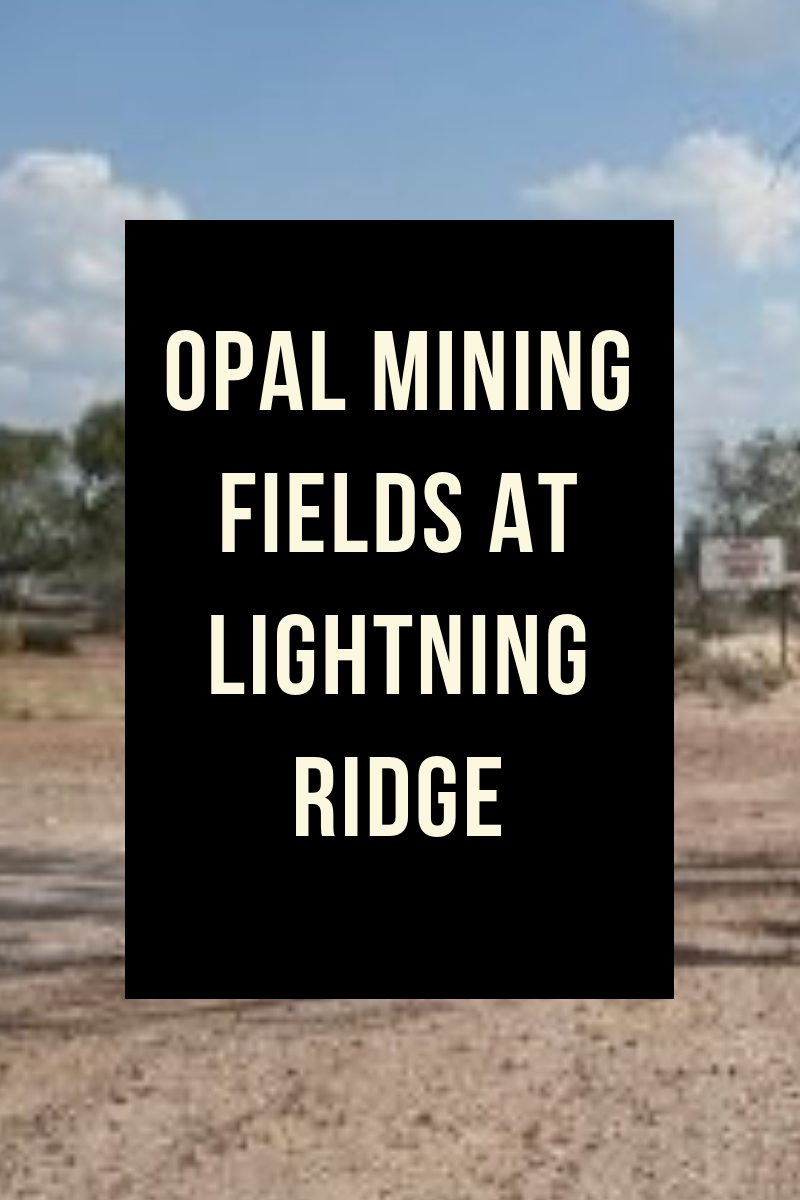 Opal Mining Fields At Lightning Ridge
