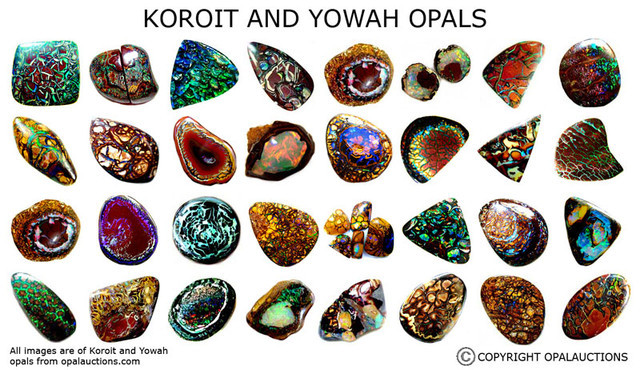 yowah and koroit opals