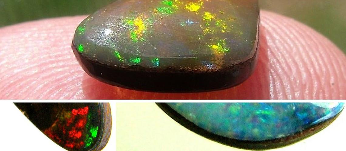 Boulder Opal vs Doublet Opal