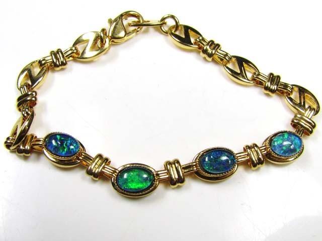 Gold Opal Bracelet