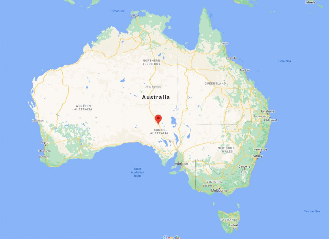 Where Is The Opal Capital Of The World