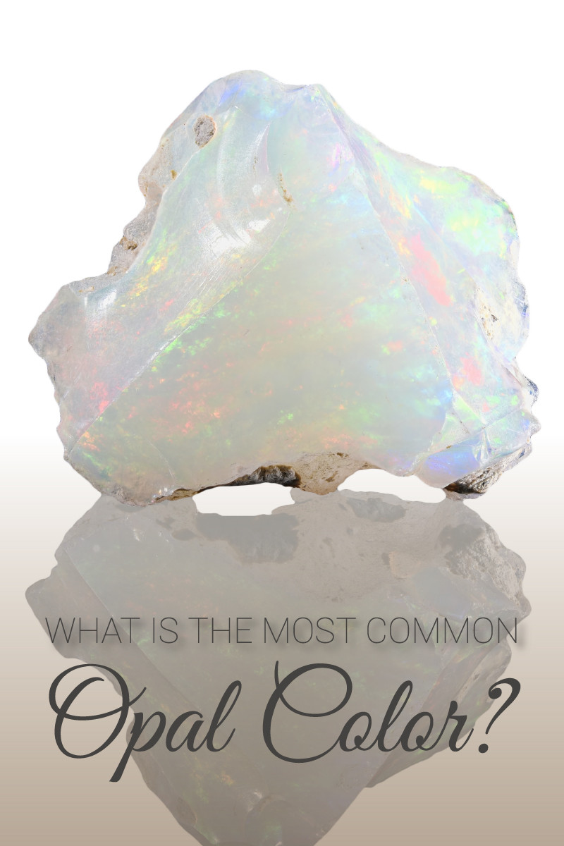 White opal is the most common opal color