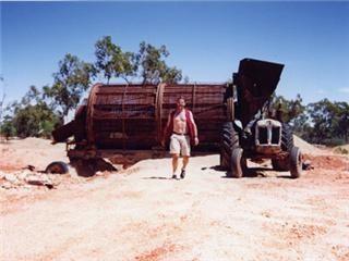 Boulder Opal Mine