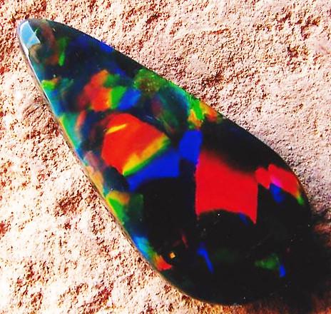 black opal rough parcel