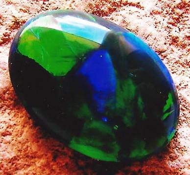 black opal flame fire