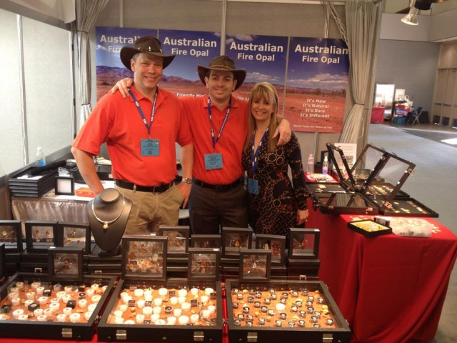 australian fire opal sellers at tucson