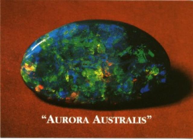 famous opals - Aurora Australis
