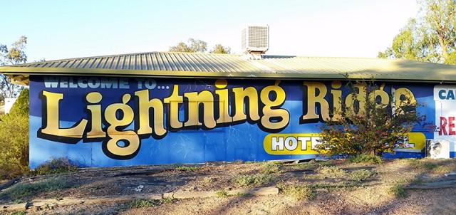 Lightning Ridge opal show 2015