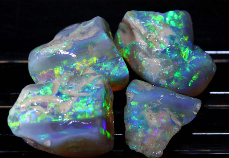 Opal rough stones