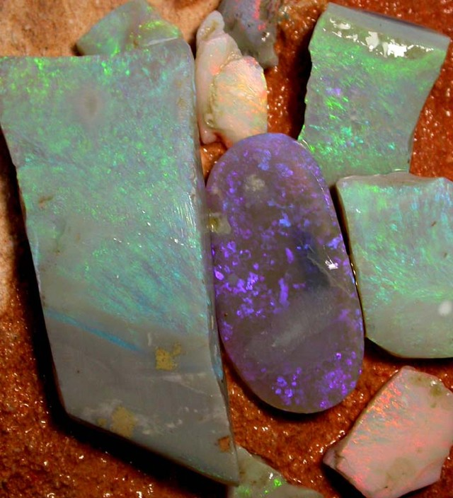 ROUGH OPAL FROM SEDA OPALS [RP106A] 210.00 CTS SAFE