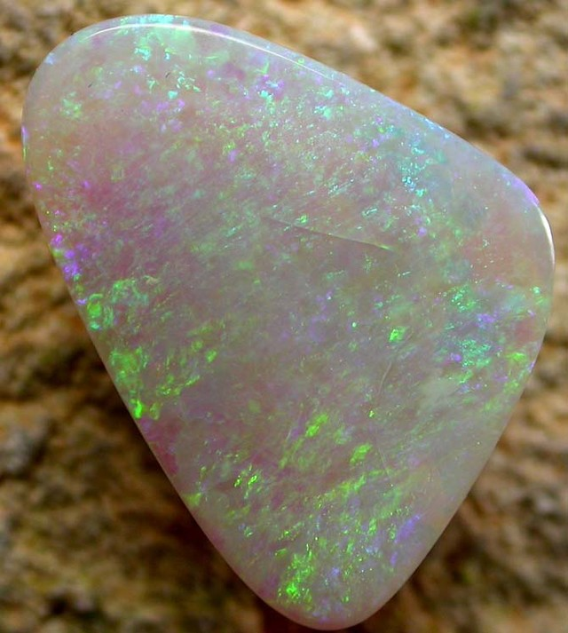 4.84 CTS PETES WHITE OPAL $ 20 PER CARAT  [MAY38]