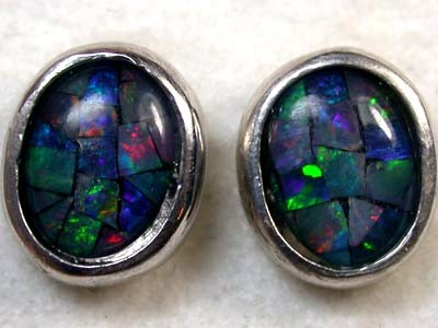 MOSAIC TRIPLET EARRING 8.50 CTS SCA652ML