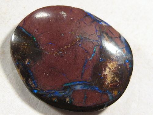 YOWAHOPALS*4.40ct Gemmy Blue Matrix Opal