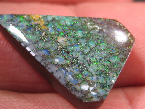 YOWAHOPALS*13.80ct Unusual Pattern - Boulder Opal