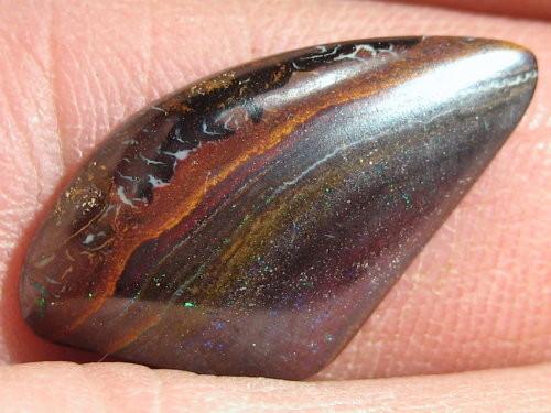 YOWAHOPALS*6.85ct Rich Dark Ironstone - Matrix Opal