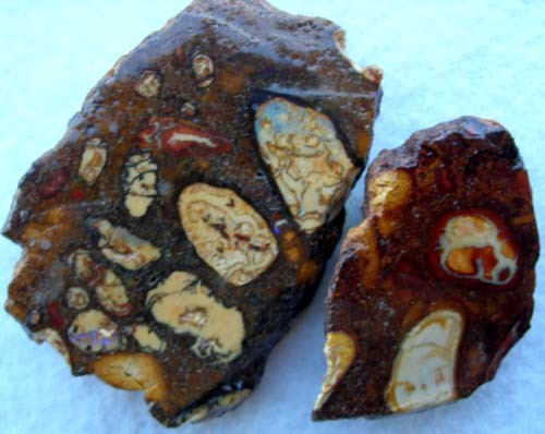 *ONA*FREE SHIPPING RESIN SEALD CONGLOMERATE OPAL 300ct CK/10