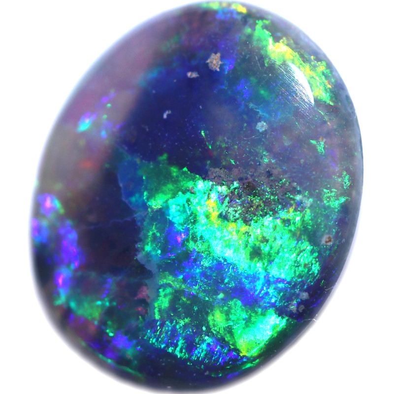 1.11 CTS BLACK OPAL STONE-FROM LIGHTNING RIDGE - [LRO1791]