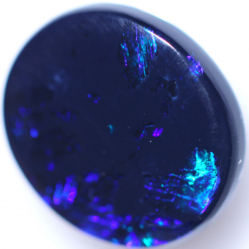 2.86 CTS BLACK OPAL STONE-FROM LIGHTNING RIDGE - [LRO1802]