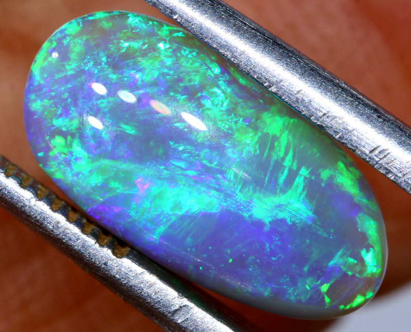 N6-  2.25 CTS  DARK  OPAL POLISHED STONE L. RIDGE  TBO-A2837