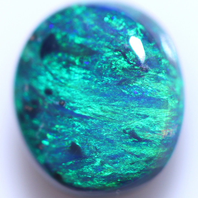 1.73 CTS BLACK OPAL STONE-FROM LIGHTNING RIDGE - [LRO1831]