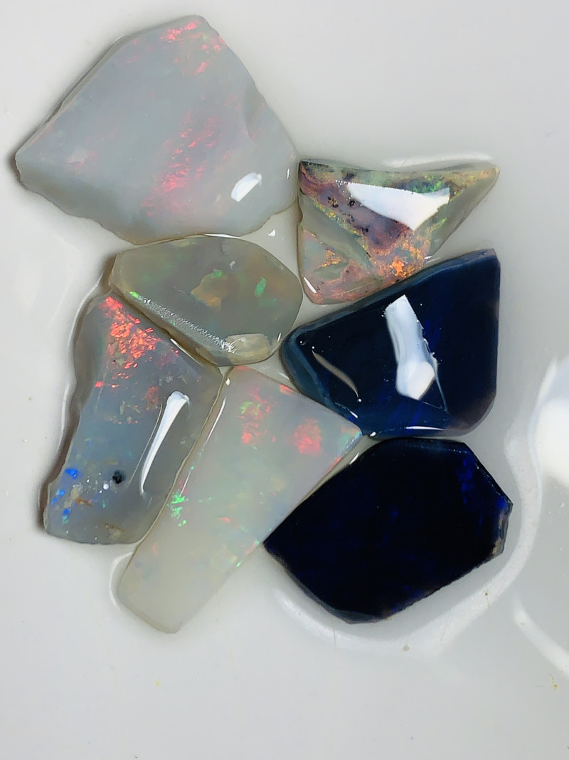 Opal Rubs- Multicolour Big Size; See the video please#516