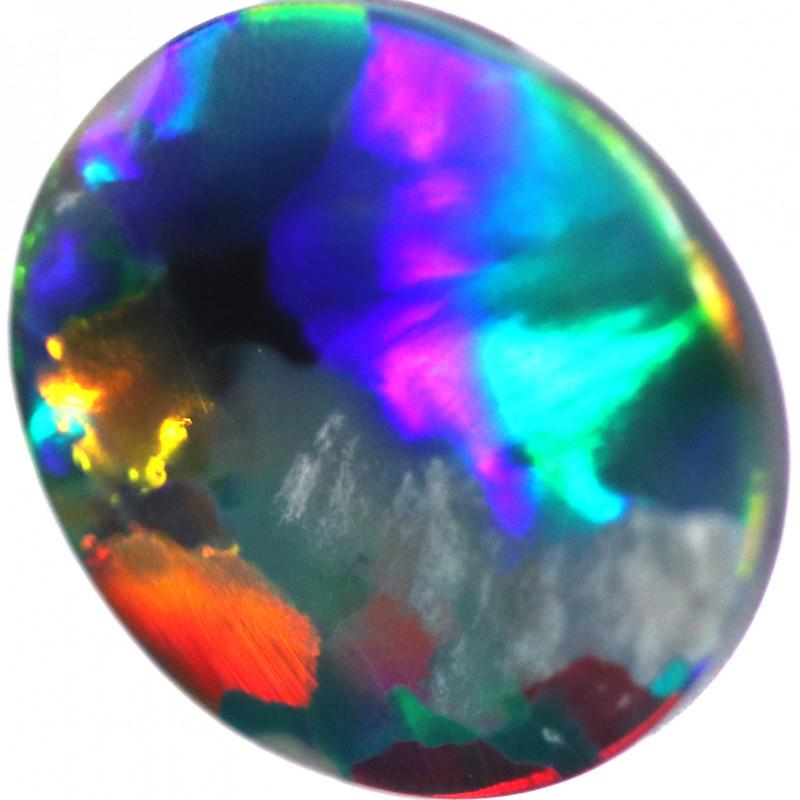 1.25 CTS BLACK OPAL STONE-FROM LIGHTNING RIDGE - [LRO1861]